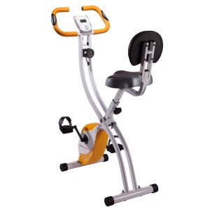 Ultrasport Vélo d'appartement pliable avec dossier 200b